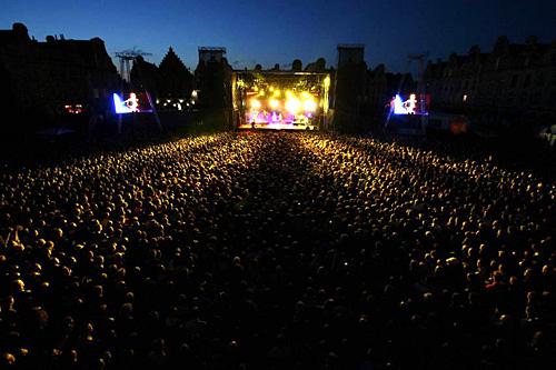 La scène du Mainsquare Festival