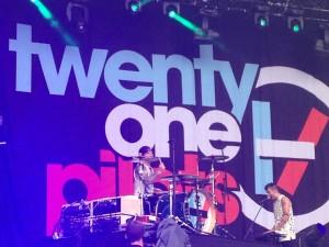 Twenty One Pilots, concert au Mainsquare Festival