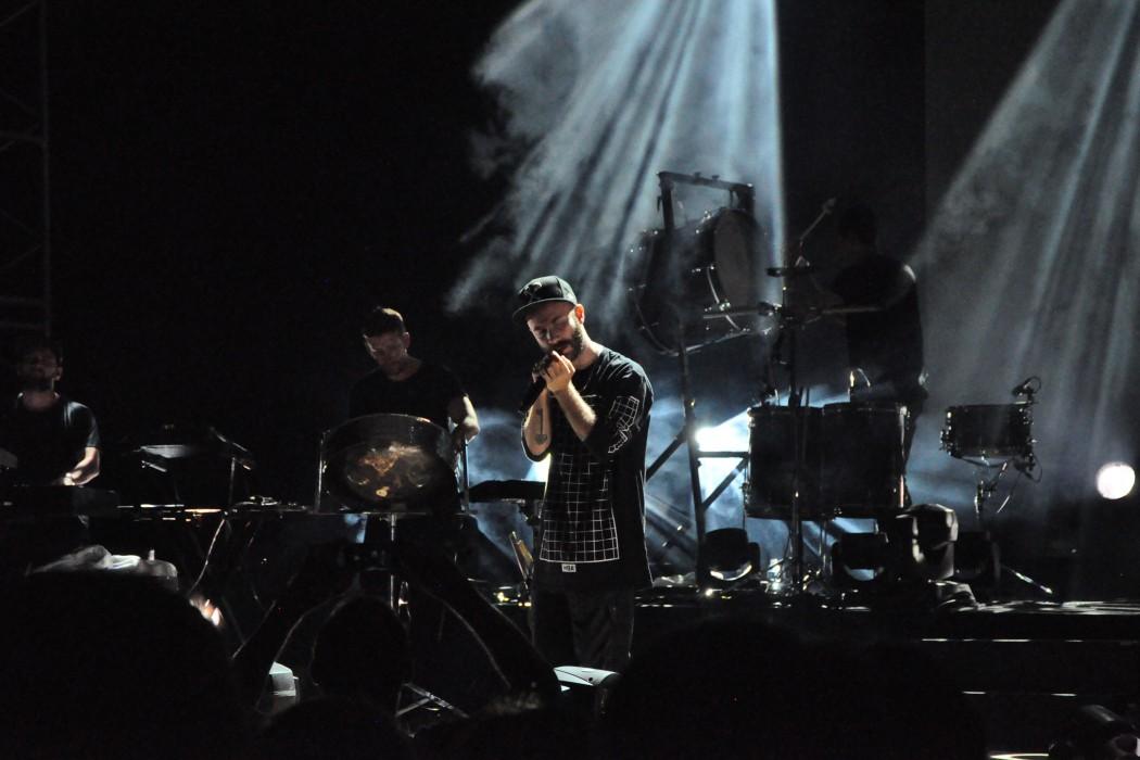 Woodkid concert palais des festivals Cannes
