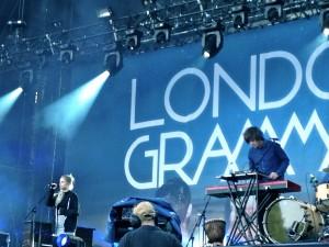 Le concert de London Grammar au Mainquare Festival