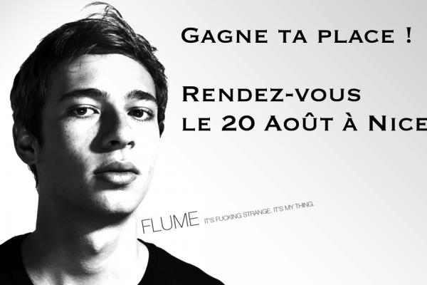 Flume en concert à Nice