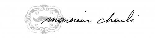 monsieur charlie signature